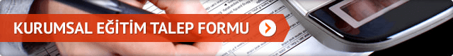 Kurumsal Eğitim Talep Formu